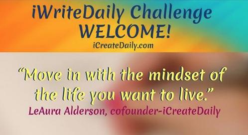 #iWriteDaily, Writing Challenge, Mountain Whispers Books
